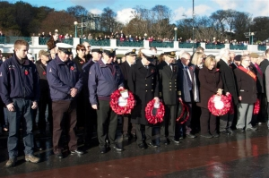 Capital unites to remember the fallen