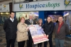 Hospice Shop wins Best Dressed Window competition