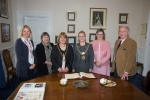 Housing Matters and Isle of Man Foodbank in the parlour
