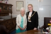 First-time visitor to the Island welcomed to the Mayor's parlour