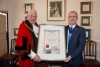 Honorary Freedom of the Borough conferred on Council Leader