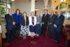 Board of Hospice Isle of Man welcomed to the Mayor's parlour