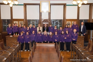 A mayoral welcome to Manx Gateway Drama Club