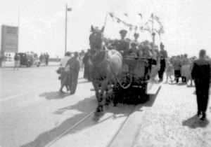History of the Douglas Horse Tram Service