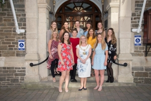 Civic support for Miss Isle of Man contestants