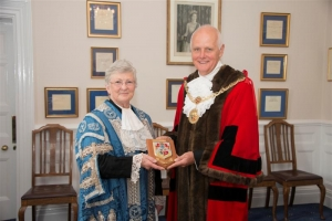 Presentation to retiring President of Tynwald
