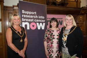 Mayor hosts Breast Cancer Now launch