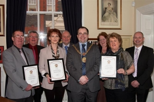 Employees' long service recognised