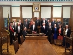 Royal Artillery Association members welcomed to the Town Hall