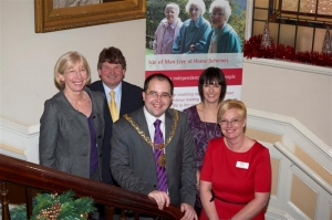Civic reception for launch of Live at Home scheme