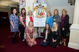 Rebecca House staff welcomed to the Mayor's parlour