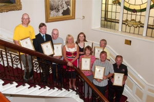 Employees receive long-service awards