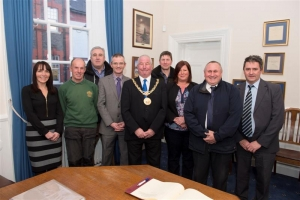Praise for parks and electrical services sections