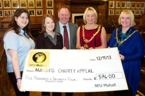 NFU Mutual boosts mayoral charity appeal