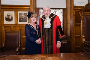 Councillor Jonathan Joughin re-elected to serve as Mayor of Douglas for 2019-20