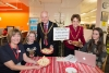 Mayor and Mayoress serve up a Christmas welcome at the library