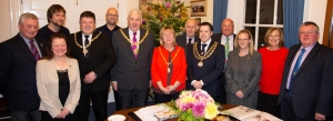 Onchan District Commissioners welcomed to the town hall