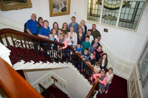 Children from Chernobyl meet the Mayor and Mayoress