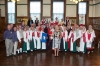 Strictly folk: Mayor welcomes Manx and Swedish dancers to town hall