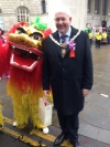 Chinese New year celebrations in Manchester
