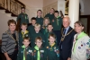 Civic welcome to 1st Santon Cubs