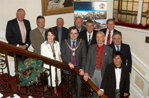 Civic reception for Christmas lights switch-on sponsors and supporters