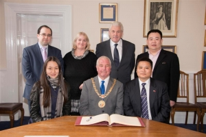 East meets West at Douglas Town Hall