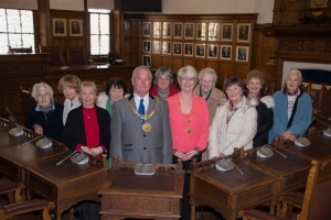 Mayor welcomes Mothers' Union members