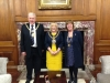 Mayor and Mayoress meet Lord Mayor of Manchester