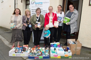 Mayor's charity committee supports Housing Matters