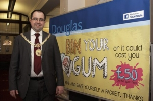 Council to take action against chewing gum litter