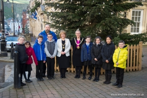St Mary's RC School pupils guests of the Mayor