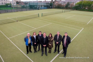 Council partners with Douglas Lawn Tennis Club courts at Kensington Road sports facility