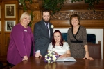 Douglas Town Hall holds first civil wedding