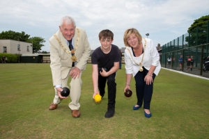 Mayor 'bowled over' by open day