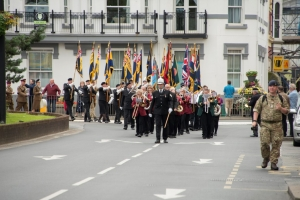 Tribute paid to members of the Armed Forces