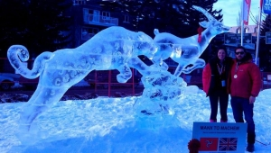 Douglas at Christmas: Full-on 'Frozen' festivities