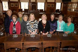 Inner Wheel Club welcomed to Town Hall