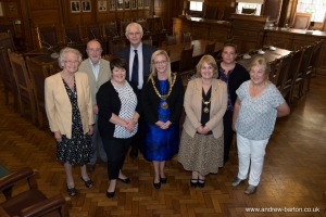 Representatives from three local good causes meet the Mayor