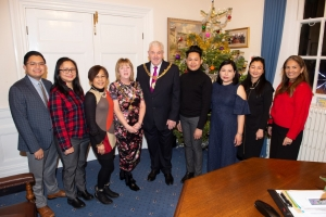 Unified Filipino Community members welcomed to the town hall