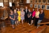 Victim Support and Probation Service members meet the Mayor