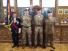 Reception for service personnel