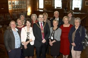 Mayor welcomes Soroptimist International presidents