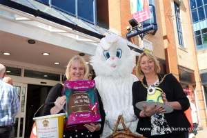 Eastertime fun-raising at Strand Centre