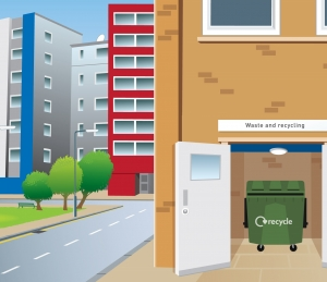 Council trialling recycling service for apartments